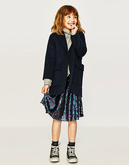Coat 4 مدل پالتوهای دخترانه بسیار زیبا و شیک مدل لباس