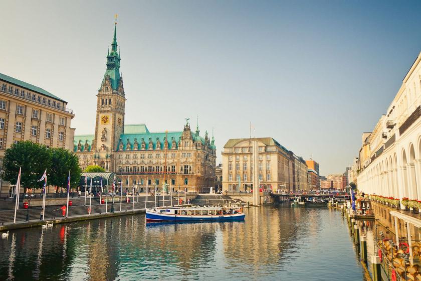 هامبورگ در آلمان