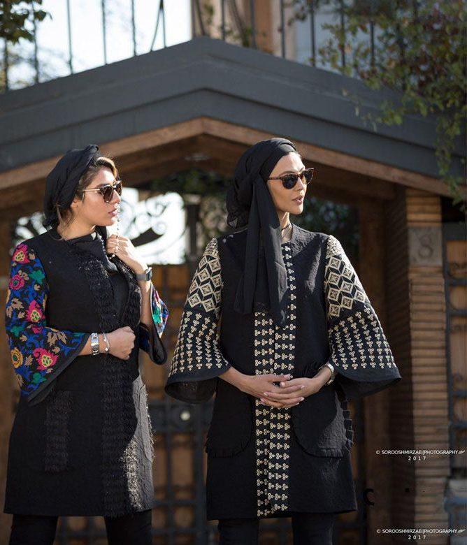 مدل های مانتو زمستانی برند Sathiya