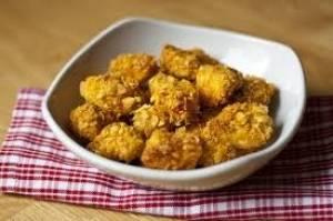 ناگت مرغ با ذرت