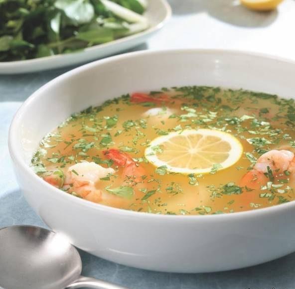 سوپ لیموی یوکاتان