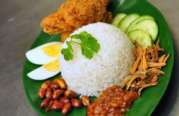 طرز تهیه ناسی لماک غذای ملی کشور مالزی