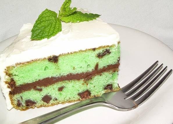 کیک نعنا
