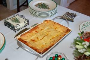 استراتای پنیر یا Cheese Strata