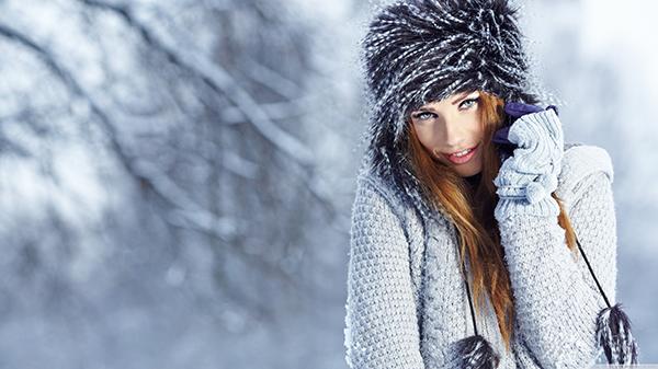عکس پروفایل زیبای دخترانه برای فصل زمستان (عکس دختران زیبا)