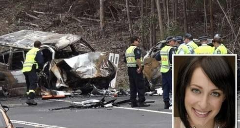 مرگ هولناک بازیگر زن و سه عوض خانواده اش در تصادف