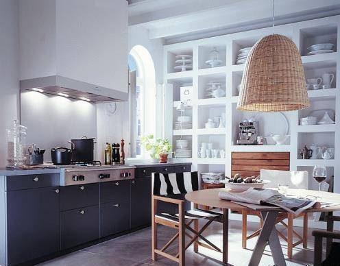 نحوه دکوراسیون آشپزخانه های کوچک با کمترین فضا