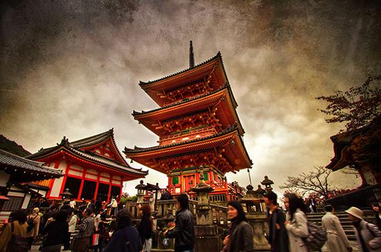 شهر کیوتو در ژاپن