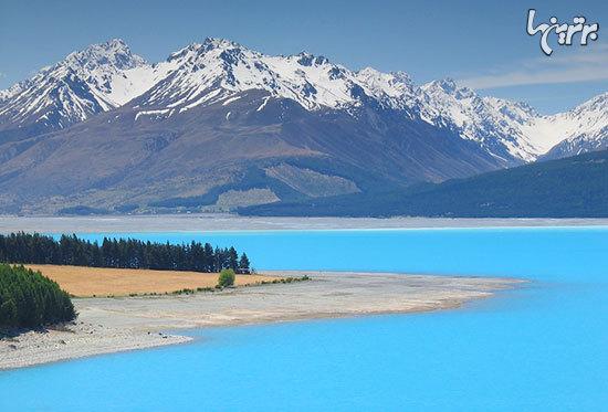 دریاچه های رنگی