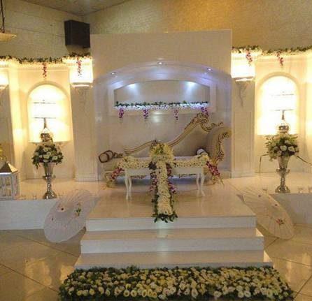 تصاویر جایگاه لوکس عروس و داماد در تالار
