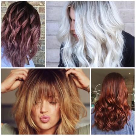 مدل رنگ مو دودی، عسلی، نسکافه ای، زیتونی جدیدترین رنگ های سال