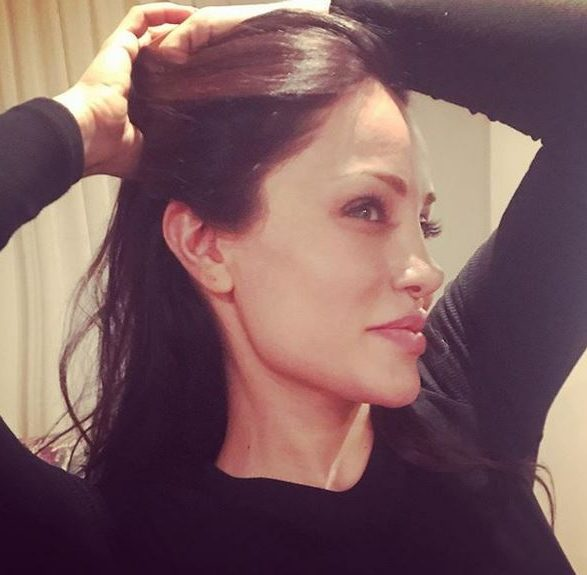 عکس های رامانا سیاح بدل ایرانی آنجلینا جولی در مراسم اکران فیلم شاخ کرگدن