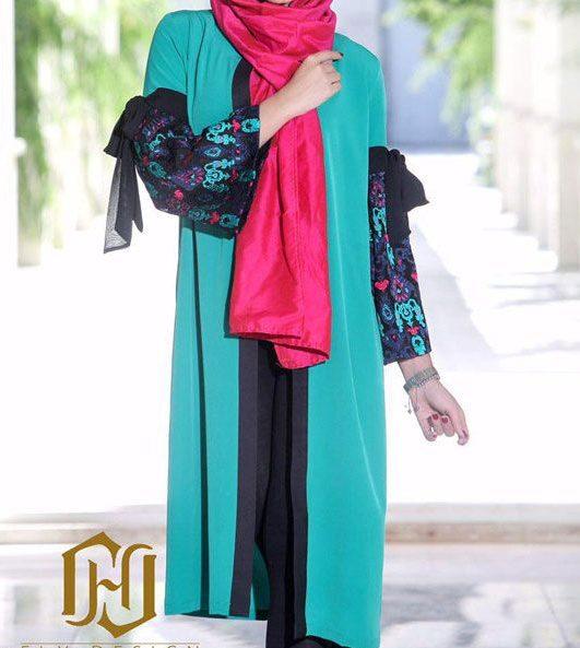 مدل مانتو 97 در طرح های مختلف ویژه عید نوروز | شیک ترین مدل مانتو سال 2018
