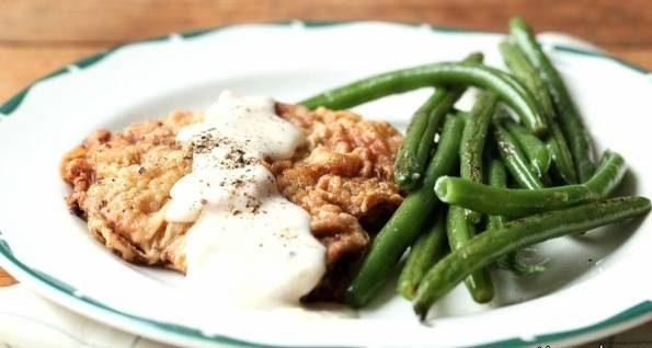 طرز تهیه مرغ سوخاری با لوبیا سبز و برنج
