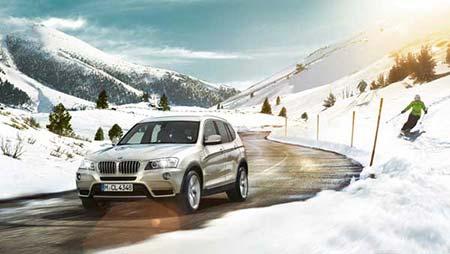 بسته رانندگی در زمستان