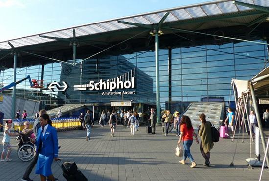 فرودگاه شیفول آمستردام