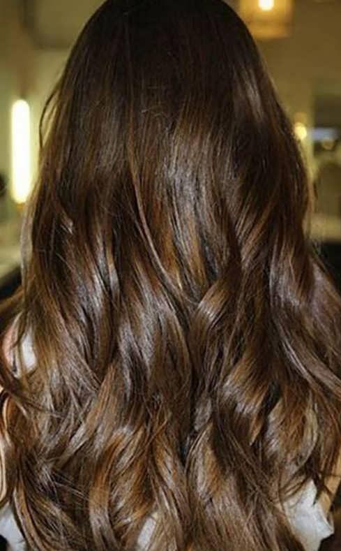 فرمول رنگ موی شکلاتی روشن و عکس های این رنگ مو
