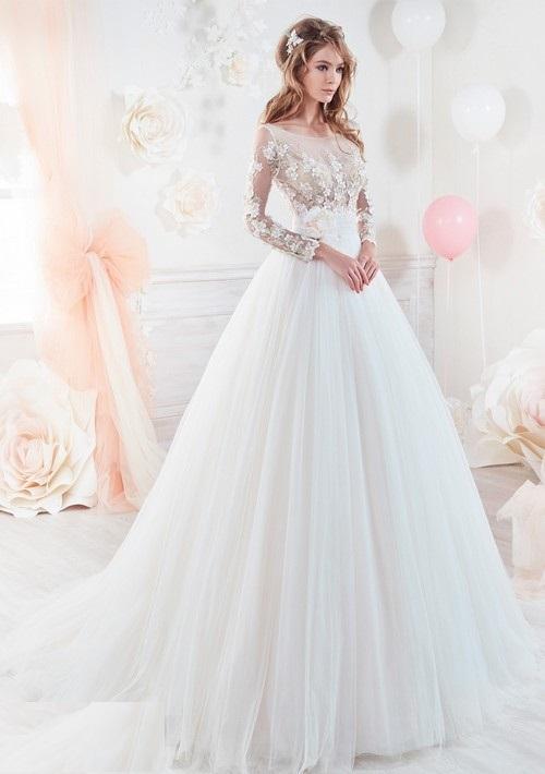 Aroos 16 مدل لباس عروس 2018؛ شیک ترین مدل لباس نامزدی مجلسی 97 مدل لباس