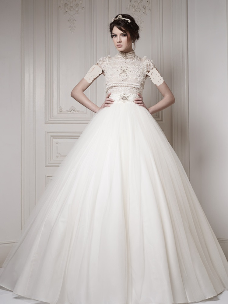 Aroos 20 مدل لباس عروس 2018؛ شیک ترین مدل لباس نامزدی مجلسی 97 مدل لباس
