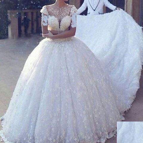 Aroos 21 مدل لباس عروس 2018؛ شیک ترین مدل لباس نامزدی مجلسی 97 مدل لباس