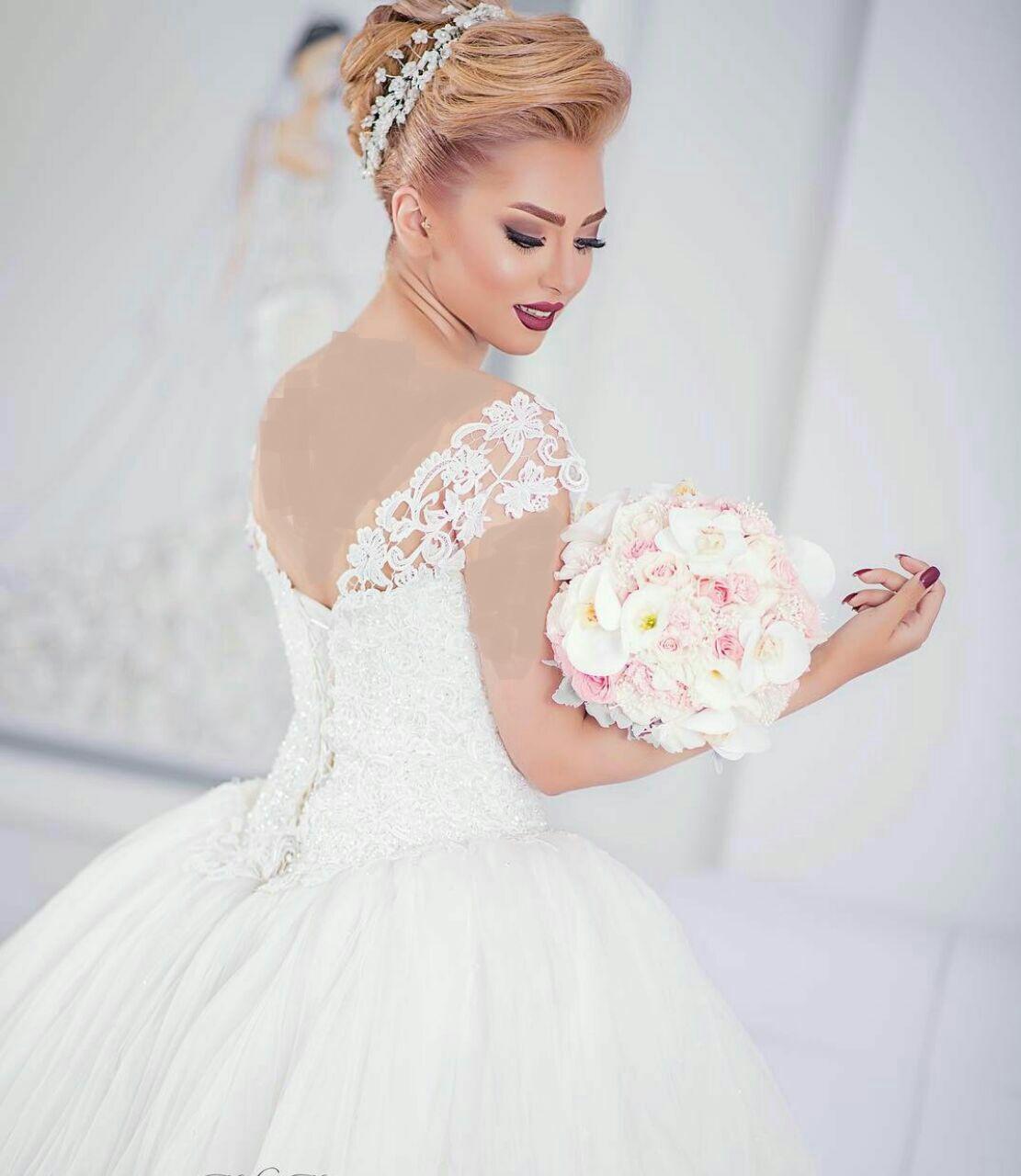 Aroos 7 مدل لباس عروس 2018؛ شیک ترین مدل لباس نامزدی مجلسی 97 مدل لباس