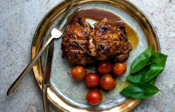 طرز تهیه سینه بوقلمون با آب سیب غذایی سالم و مقوی