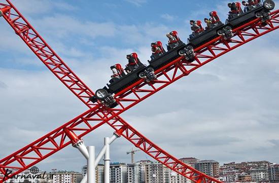 تفریح در شهربازی ویالند استانبول جایی که پر از هیجان های تکرار نشدنی است
