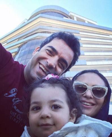 Farzand 1 e1525000952872 عکس بازیگران و فرزندانشان از دختر یکتا ناصر تا فرزند مهناز افشار عکس