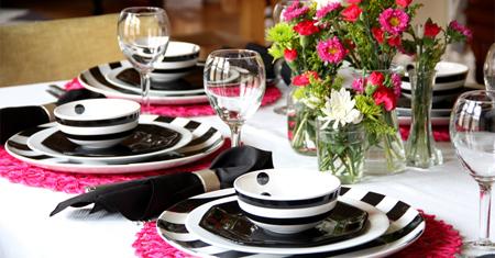 نکات مهم برای چیدمان میز غذاخوری برای داشتن میز غذاخوری شیک