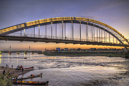Photo of تاریخچه پل سفید اهواز و حقایق خواندنی در مورد این پل قدیمی