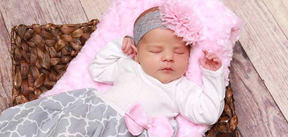 لباس زیبا برای نوزاد