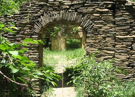 نگاهی به روستای ورکانه که به چشمه قل قل معروف است