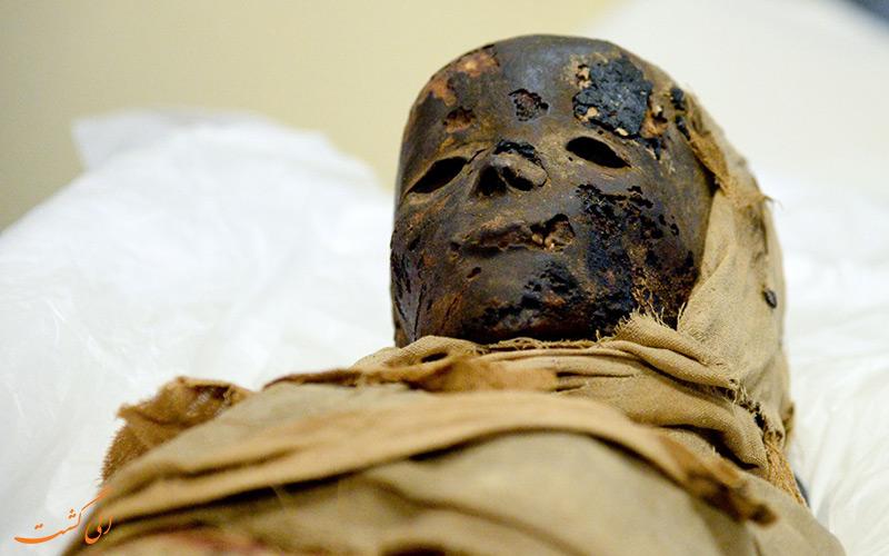 جسد مومیایی