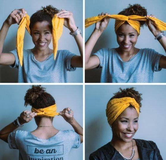 بستن مو با روسری به شیوه های مختلف