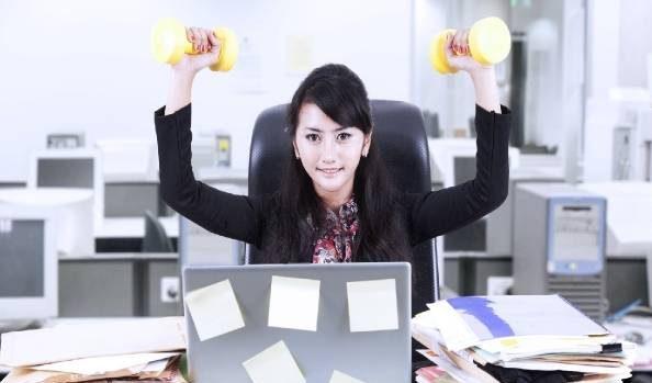 تمرینات ورزشی ویژه برای خانم های کارمند