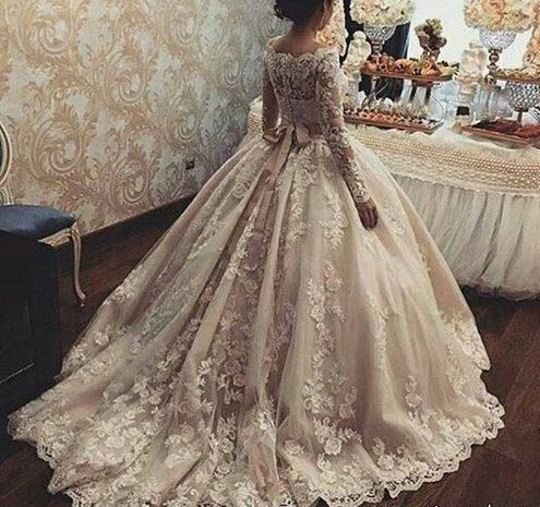 جدیدترین مدل لباس عروس پرنسسی اینستاگرام