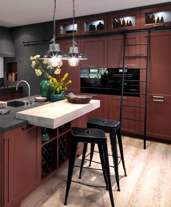 تصاویر دکوراسیون آشپزخانه شیک و مدرن