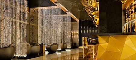 رستوران لاکچری طلاکوب در برج العرب جمیرا