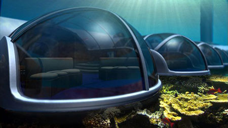 هتل پوزیدون هتلی لوکس و زیبا در زیر آب