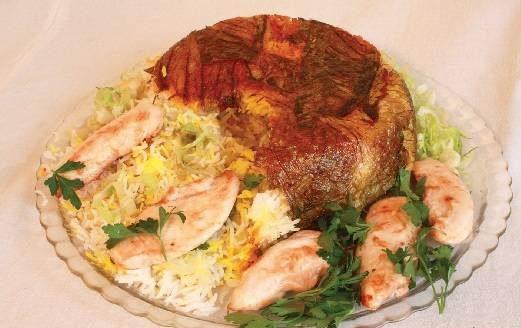 طرز تهیه کاهو پلو غذای ایرانی با روشی جدید