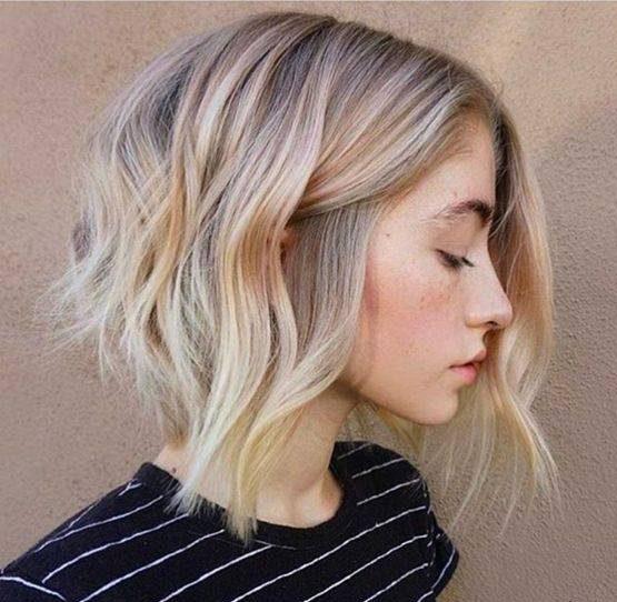 مدل موهای زنانه و دخترانه جلو بلند و پشت کوتاه جدید