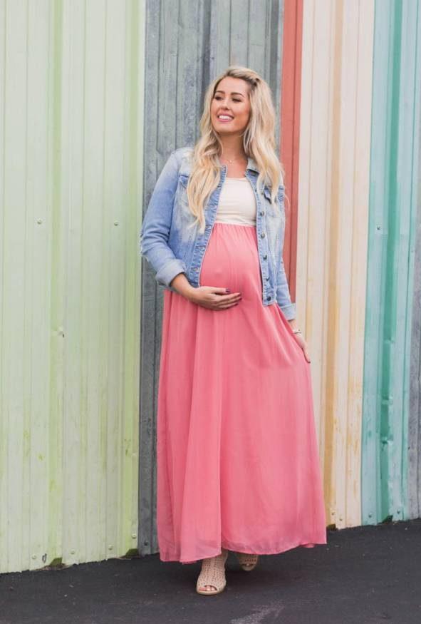 زیباترین مدل های پیراهن بارداری حریر و نخی ویژه بهار و تابستان