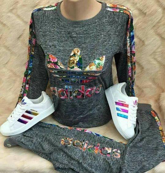 ست لباس ورزشی دخترانه آدیداس برای دختران جوان
