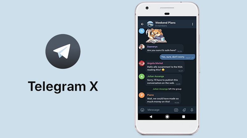 تلگرام بدون مسدودی با فناوری بلاک چین Telegram X