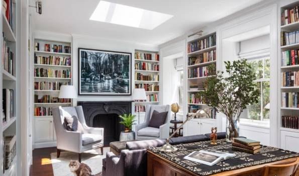 ایده هایی برای ساخت کتابخانه رویایی و زیبا در منزل