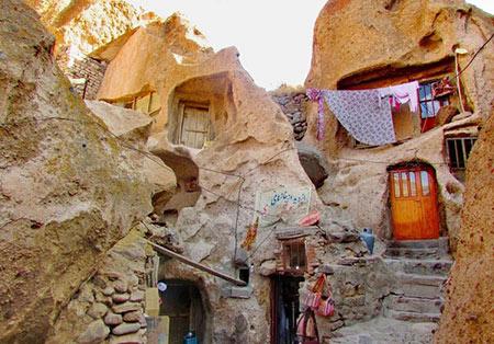خانه های صخره ای در دنیا