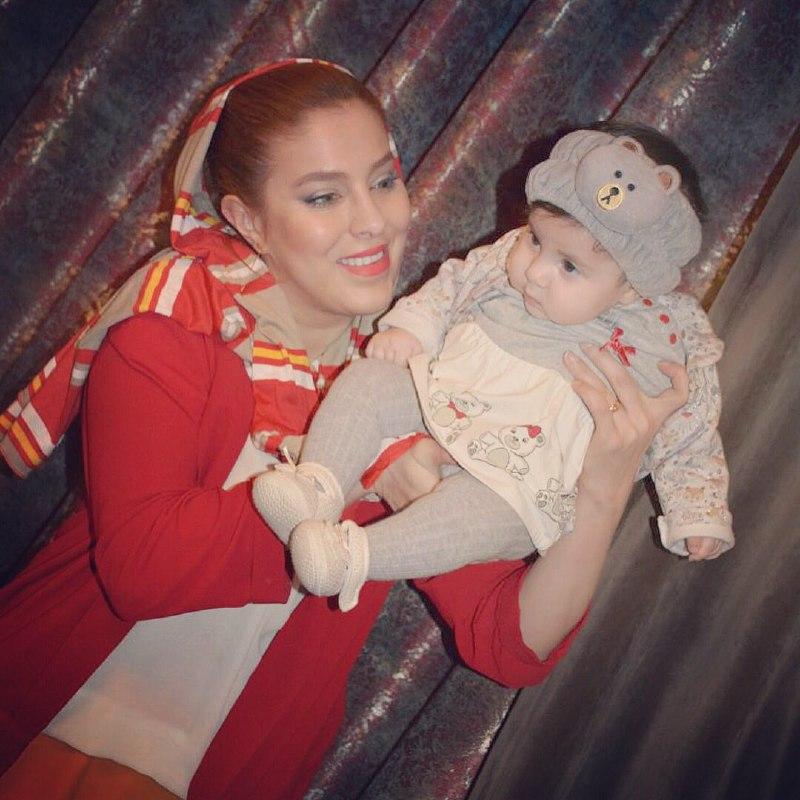عکس های شیما محمدی و دخترش نیکا + بیوگرافی شیما محمدی بازیگر ایرانی