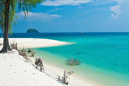 ساحل طلوع آفتاب در تایلند