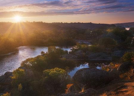 طبیعت گردی در اوکراین