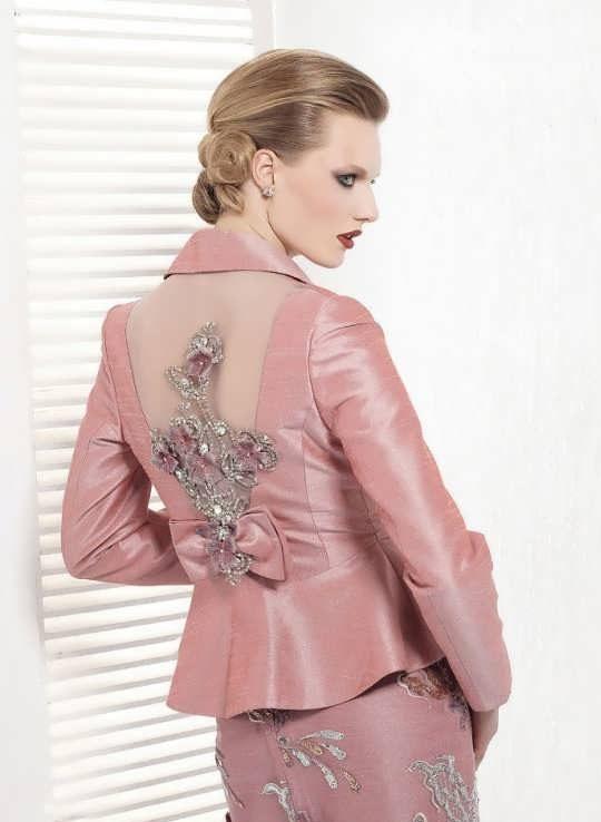 Coat daman 10 e1528576031470 مدل کت و دامن کار شده مجلسی زنانه و دخترانه شیک و جدید مدل لباس